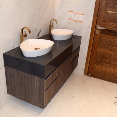 Mueble de baño en melamina MASISA
