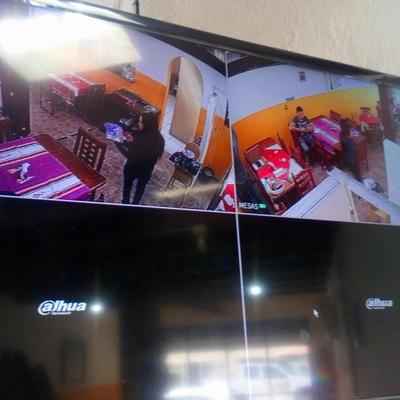 Instalación de 2 cámaras 1080 hd 2 megapixeles