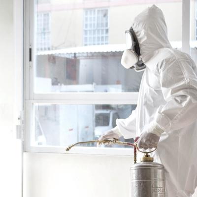 Control de plagas, sanitización y desinfección