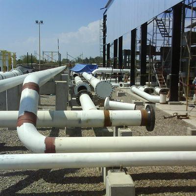 Montaje de Tuberias para Gas