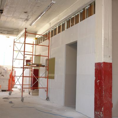 Fabricación de muros divisorios sistema Hebel , Miyana , Polanco , CDMX