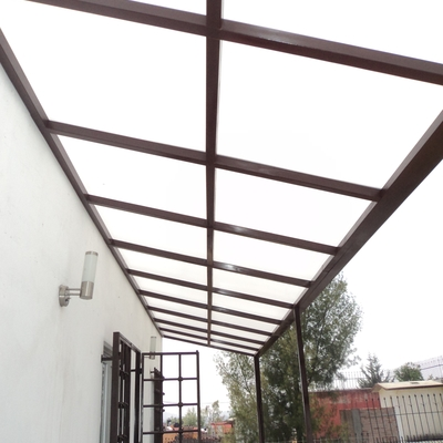 techado con policarbonato