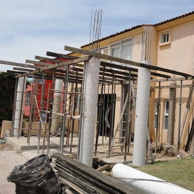 CONSTRUCCIÓN DE TERRAZA