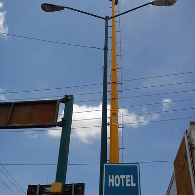 Instalacion de CCTV metropolitano de Seguridad Publica