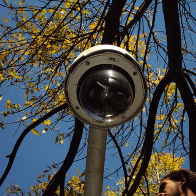 Instalacion de camaras panoramicaas IP ArecontVision