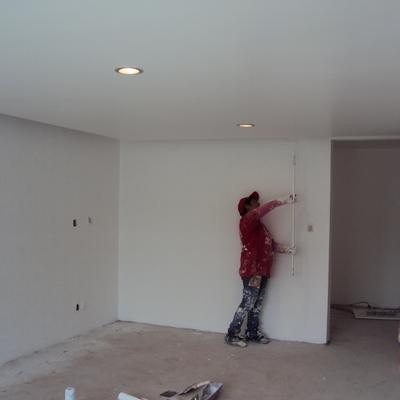 Plafond en recámara