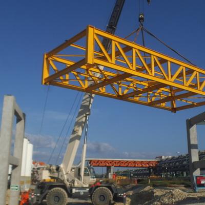Fabricación y Montaje Estrctura para puente de Tuberias