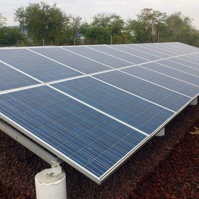 Electricidad solar fotovoltaica