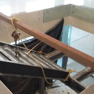 Detalle de armado de escalera