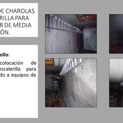 CHAROLAS TIPO ESCALERILLA