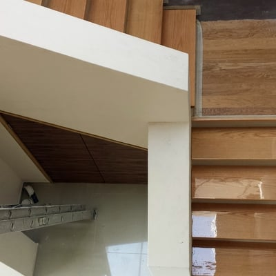 escalera de encino