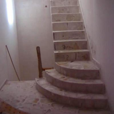 escalera pulida