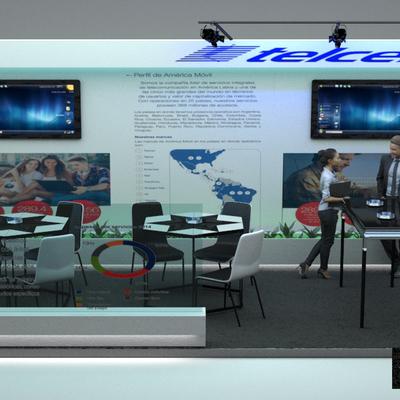 Proyecto - Sala de Coworking Telcel (Render)