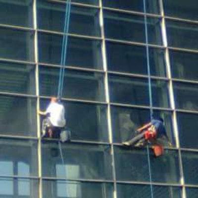 Lavado de Vidrios de Altura-