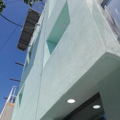 remodelacion de fachada caja popular