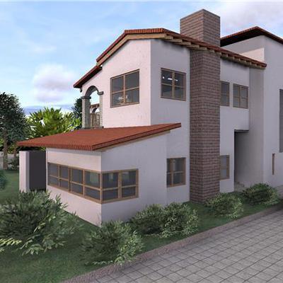 Fachada Casa Cantalagua