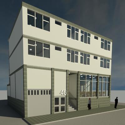 Diseño Arquitectónico Edificio de departamentos
