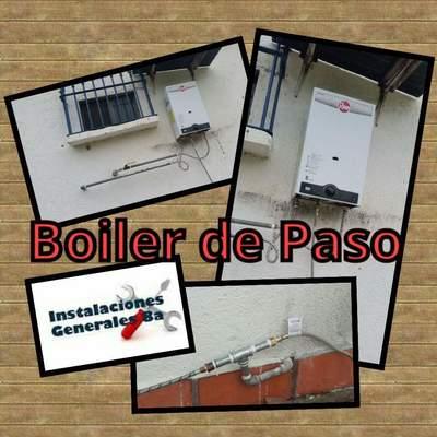 Instalacion de boiler