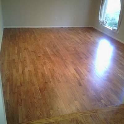 Instalacion de piso de madera