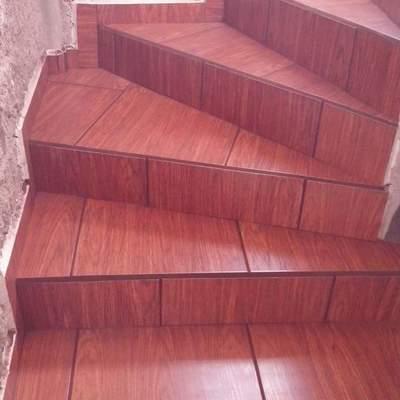 Escaleras de abanico