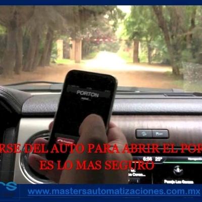 Desde la seguridad de tu auto