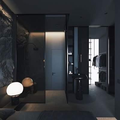Black desing baño