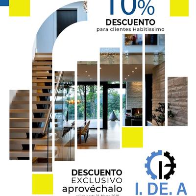 10% DE DESCUENTO A CLIENTES EXCLUSIVOS HABITISSIMO