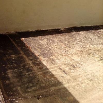 Preparación de piso para desbaste