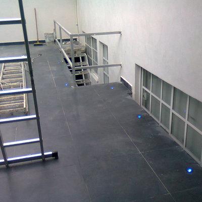 iluminacion de escaleras
