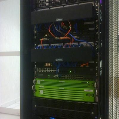 Conclusion de Rack multiproposito de CCTV y control de acceso