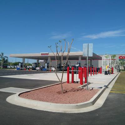 Gasolinera Kirclan en Culiacan , Mexico.