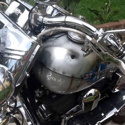 Harley Aerografia original 2013