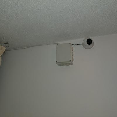 Cableado interno de Camara domo