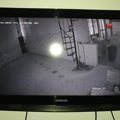 Visión Nocturna Cámara Domo 1 Mpx