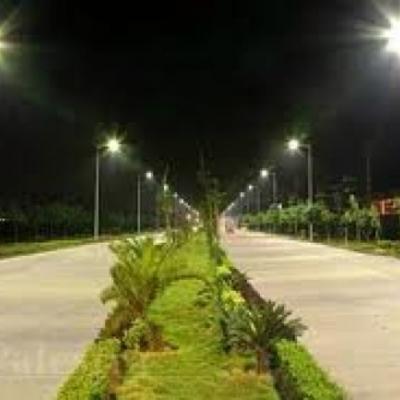 Iluminacion en Tramo Carretero en Yucatan