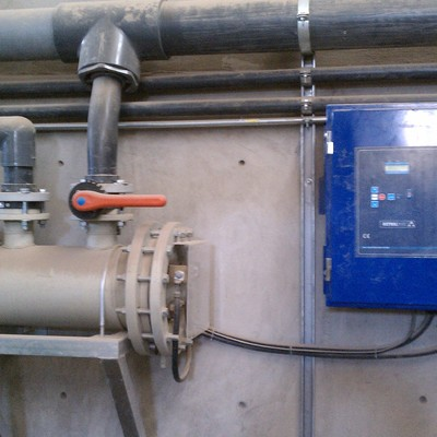 Sistema electrólisis salina