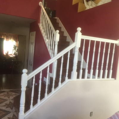 Escalera residencial