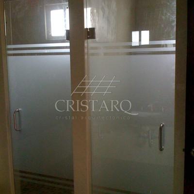 Puertas de vidrio Templado de 9.5mm