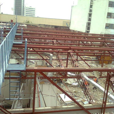 desmantelación de estructura metalica