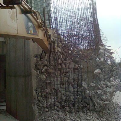 muro de concreto