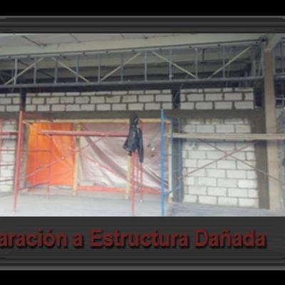 Remodelaciones y reparación de estructuras.