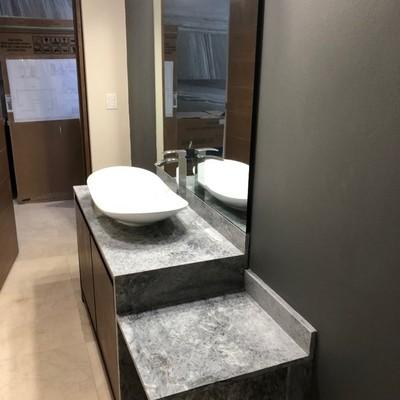 baño de visitas