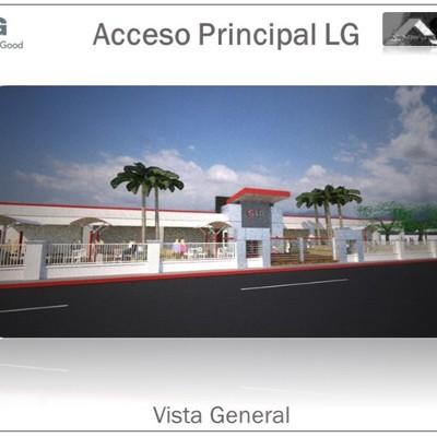 Accseso Principal Area de Produccion de LG