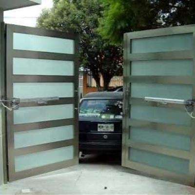 Diseño portón y automatización