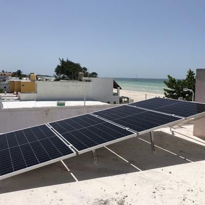 Instalacion de Paneles solares en Progreso Yucatan 2