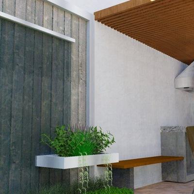 Diseño de areas de esparcimiento exterior