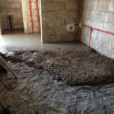 Instalación de Pisos de Concreto
