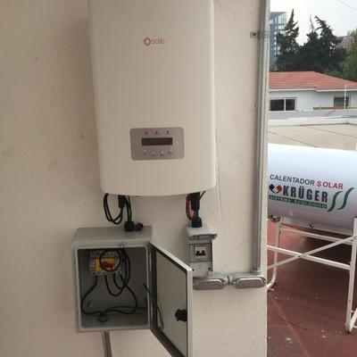 Sistema 2.38 kw Al Sur de CDMX