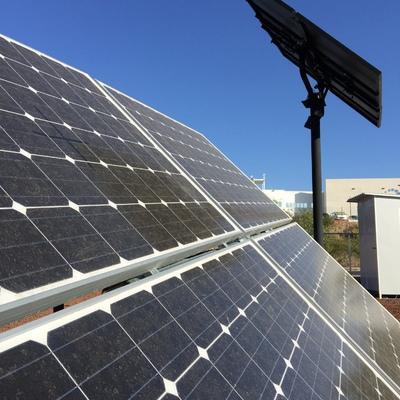 Sistema con seguimiento Solar