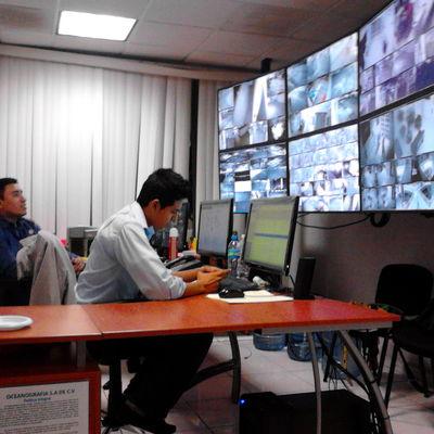 VIDEOWALL CCTV